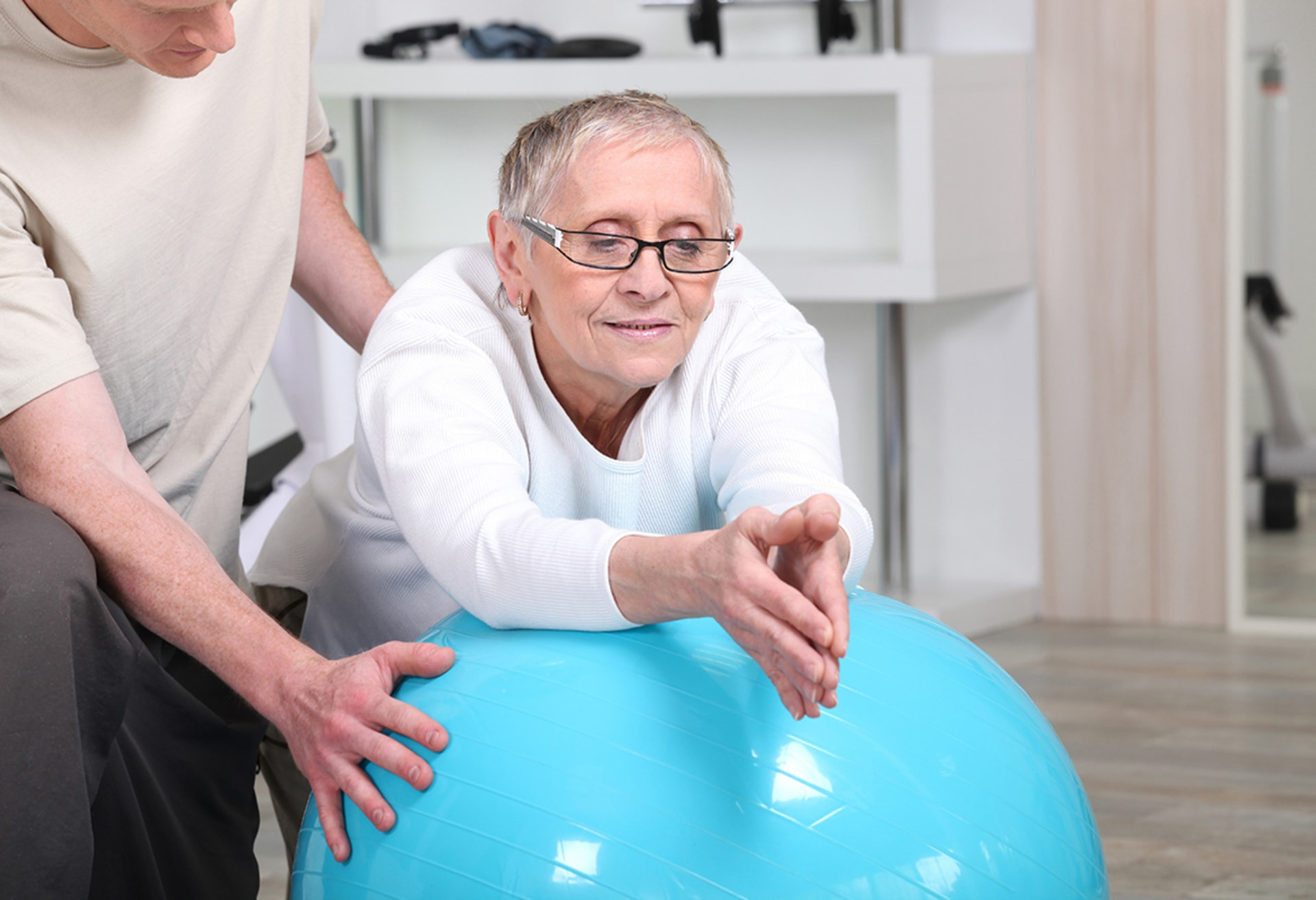 CHRONIC OR DEGENERATIVE DISEASES, A GENERAL LACK OF PHYSICAL CONDITION